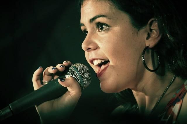 Singer Bbface Singing - Free photo on Pixabay (186398)
