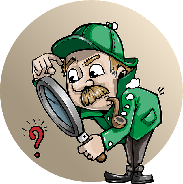 Detective Searching Man - Free vector graphic on Pixabay (186722)