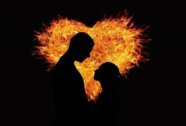 Heart Love Flame - Free image on Pixabay (187342)