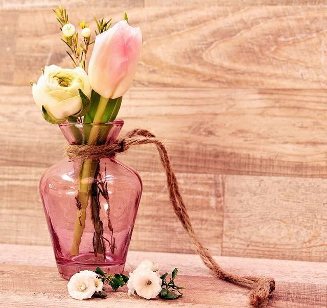 Tulips Ranunculus Vase - Free photo on Pixabay (187663)