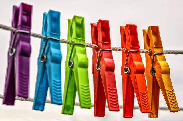 Clothespins Leash Clothes Line - Free photo on Pixabay (188598)
