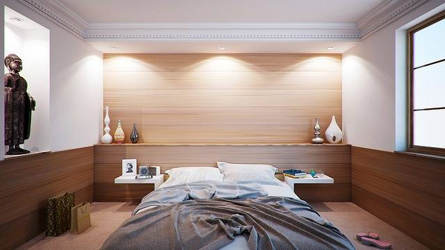 Bedroom Bed Apartment - Free photo on Pixabay (190473)