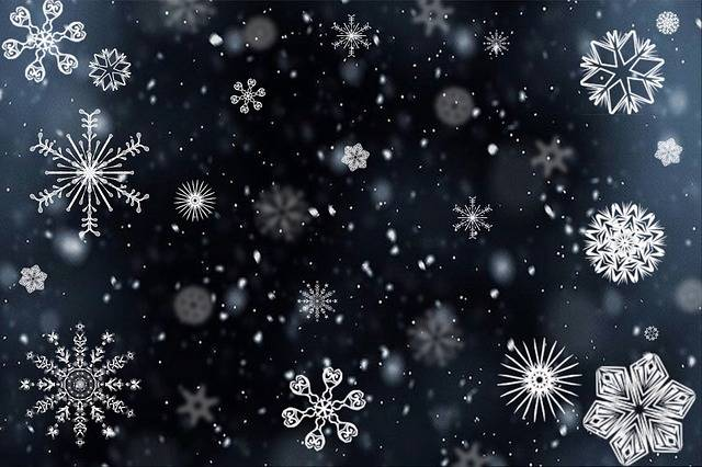 Snowflake Snow Snowing - Free image on Pixabay (190790)