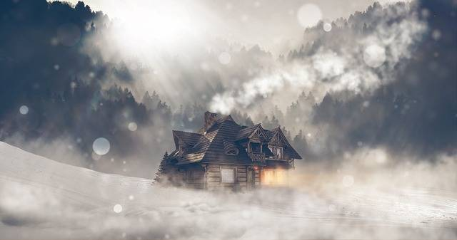 Winter Snow House - Free photo on Pixabay (191089)