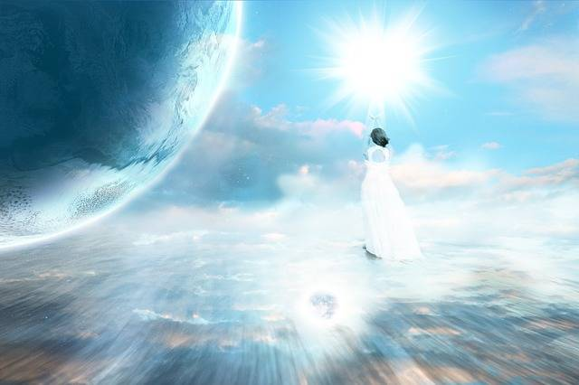Ascension Celestial Planet - Free photo on Pixabay (194037)