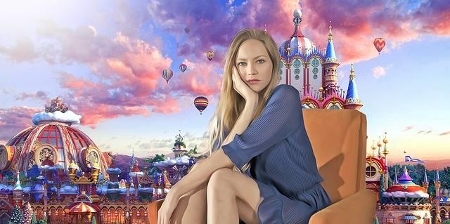 Fantasy Wonderland Portrait - Free photo on Pixabay (194069)