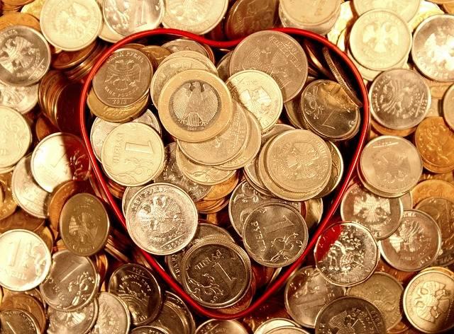 Money Coins Heart - Free photo on Pixabay (194165)