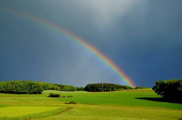 Rainbow Weather Nature - Free photo on Pixabay (194461)