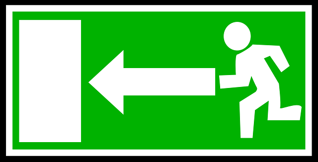 Emergency Exit Green - Free vector graphic on Pixabay (195367)