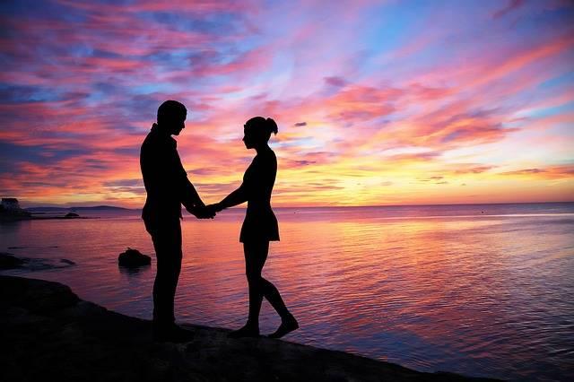 Couple Love Sky Color - Free photo on Pixabay (196506)