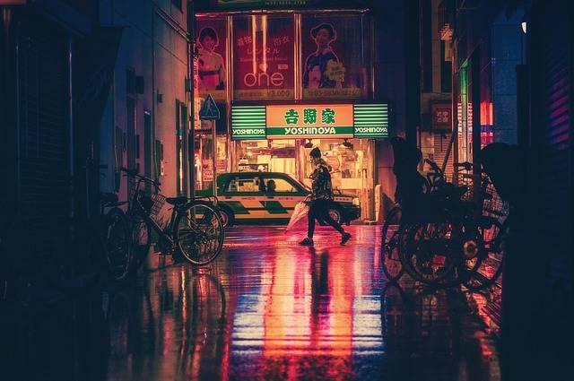 Japan Osaka Night - Free photo on Pixabay (200834)