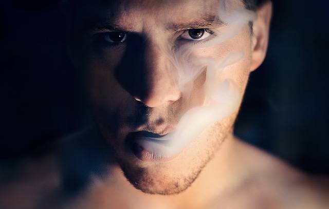 Man Smoke Portrait - Free photo on Pixabay (202381)