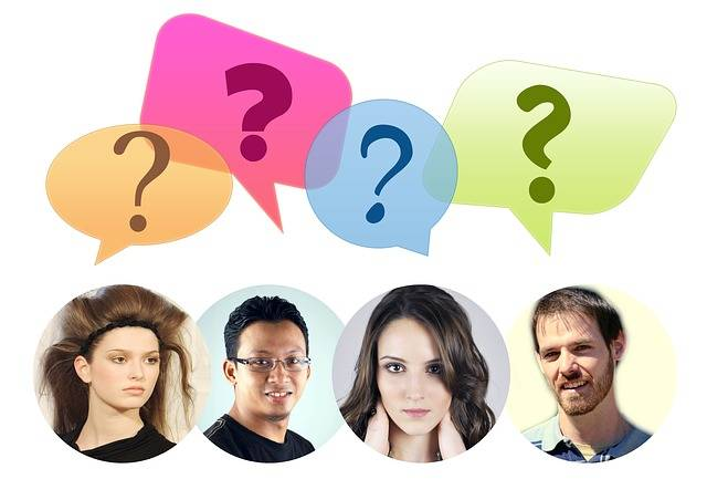 Group Team Balloons Question - Free photo on Pixabay (203570)