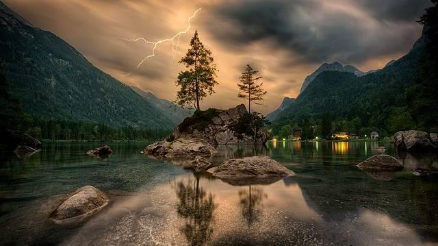Nature Waters Lake - Free photo on Pixabay (205247)
