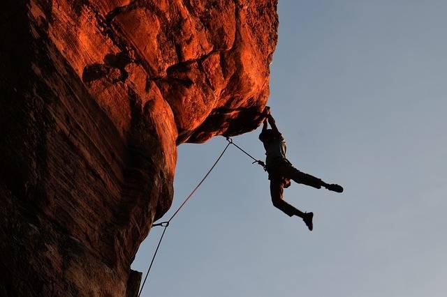 Climbing Rock Overhang - Free photo on Pixabay (207054)