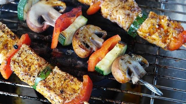 Meat Vegetables Gemuesepiess - Free photo on Pixabay (208849)