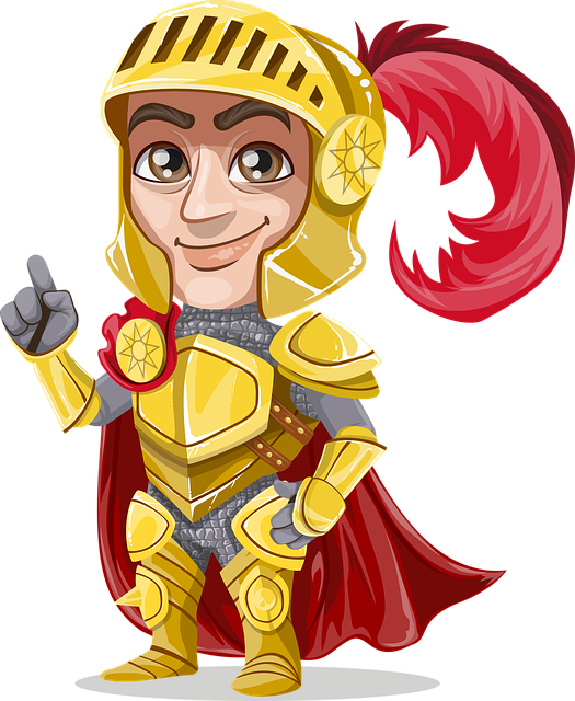 Knight Gold Golden - Free vector graphic on Pixabay (211105)