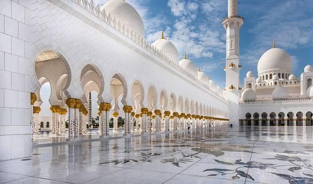 Mosque Abu Dhabi Travel - Free photo on Pixabay (213036)