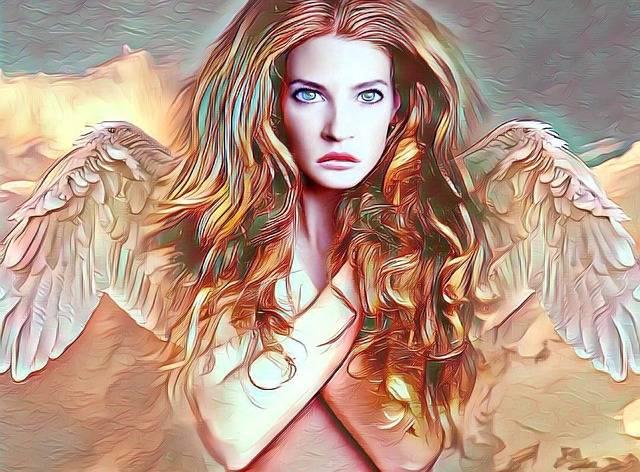 Angel Woman Beautiful - Free image on Pixabay (214574)