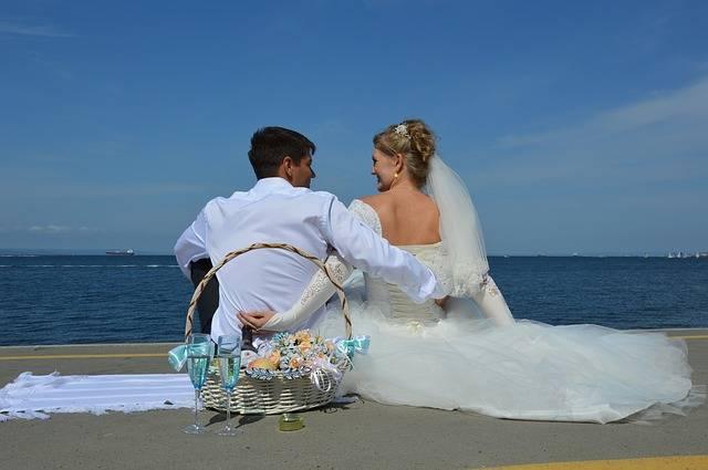 Love Wedding Sea - Free photo on Pixabay (218209)