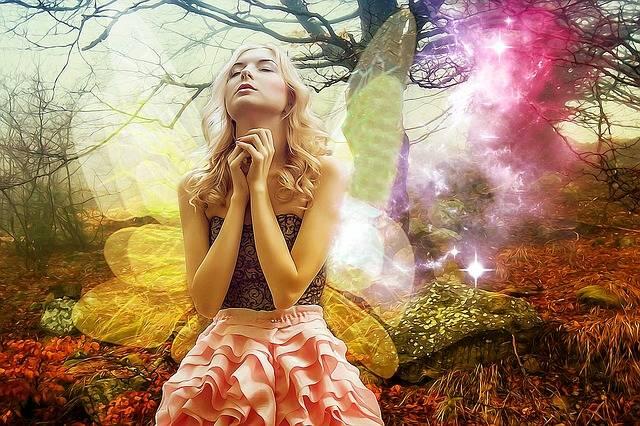 Gothic Fantasy Girl - Free image on Pixabay (221310)