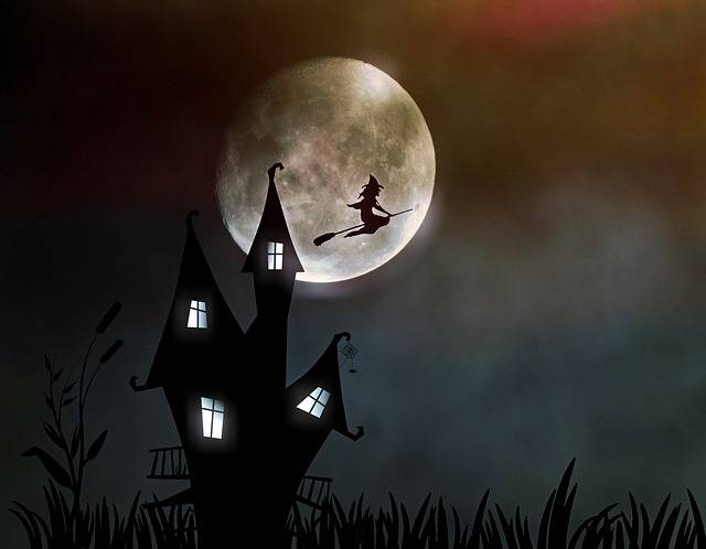 Witch'S House The Witch Moonlight - Free image on Pixabay (221373)