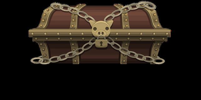 Treasure Chest Box - Free vector graphic on Pixabay (223144)
