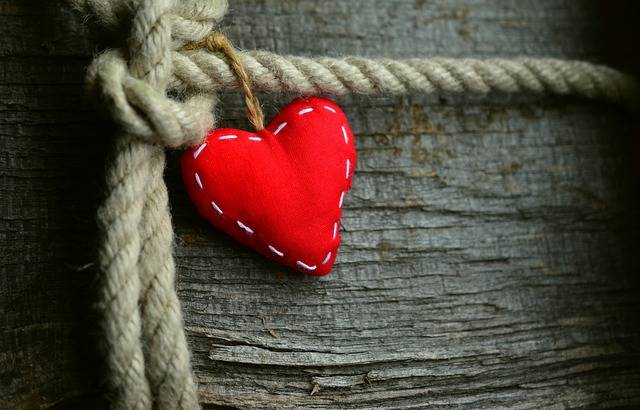 Heart Red Rope - Free photo on Pixabay (223916)