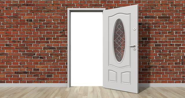Door Open Wall - Free image on Pixabay (224380)