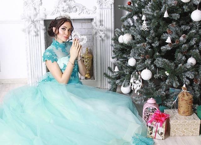 Princess Christmas Tree New Year - Free photo on Pixabay (224388)