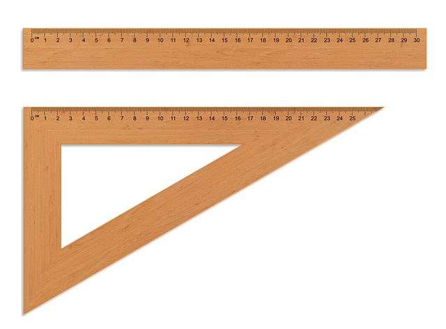 The Ruler Wooden Setsquare - Free image on Pixabay (226205)