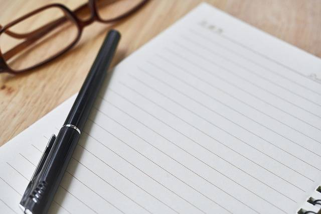 Notebook Pen The Work - Free photo on Pixabay (227248)