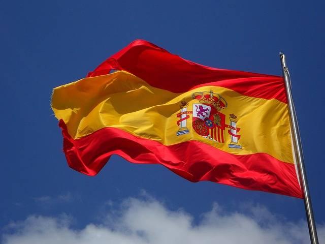 Spain Flag Flutter - Free photo on Pixabay (235827)