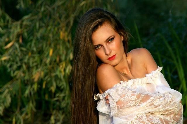 Girl Long Hair White - Free photo on Pixabay (239401)