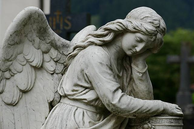 Angel Cemetery Sculpture Rock - Free photo on Pixabay (243461)