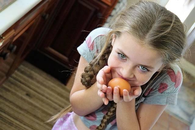 Girl Crafty Egg - Free photo on Pixabay (252969)