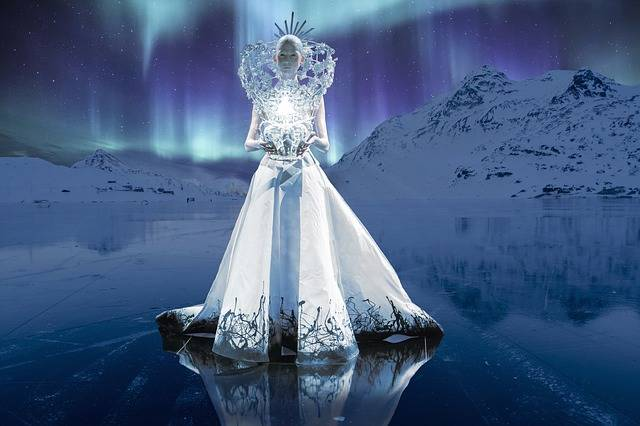 Queen Ice Northern Lights - Free photo on Pixabay (256049)