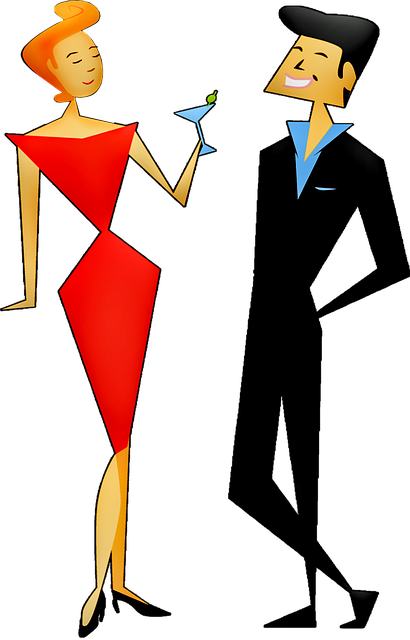 Man And Woman Party Retro - Free image on Pixabay (256770)