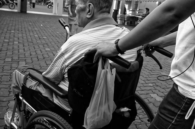 Wheelchair Elderly Man - Free photo on Pixabay (256846)