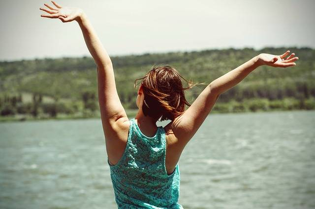 Happiness Back Side Woman - Free photo on Pixabay (256848)