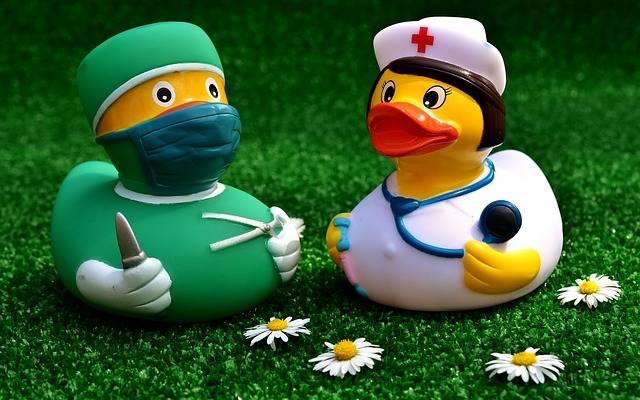 Surgeon Operation Rubber Duck - Free photo on Pixabay (257867)