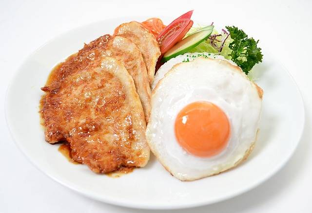 Plate Lunch Pork Ginger Fried - Free photo on Pixabay (259226)