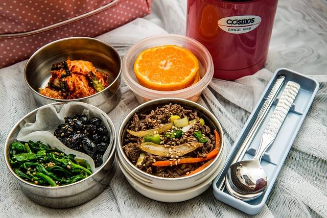 Lunch Box Dishes Korean Side - Free photo on Pixabay (259763)
