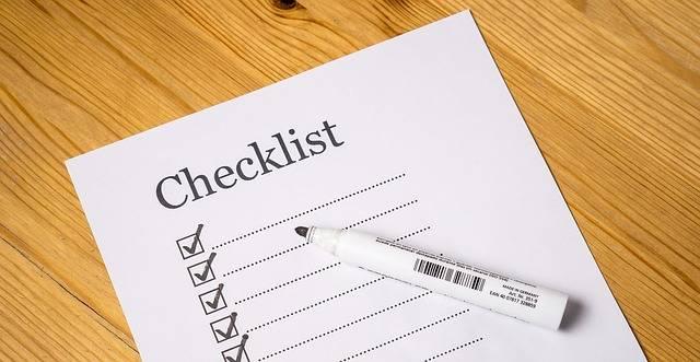 Checklist Check List - Free image on Pixabay (260047)