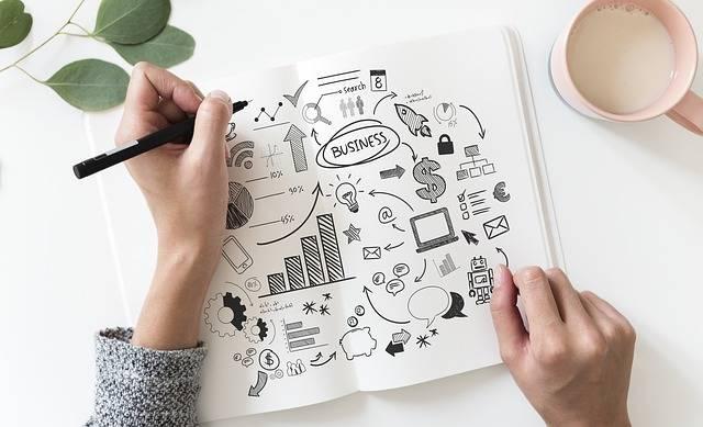Hand Business Plan - Free photo on Pixabay (260390)