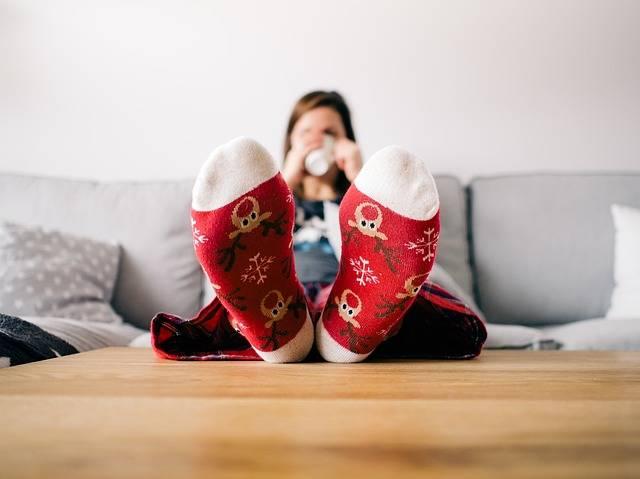 Feet Socks Living Room - Free photo on Pixabay (261548)