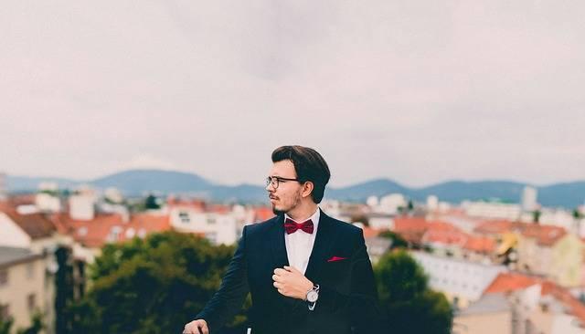 Suit Tuxedo Bowtie Pocket - Free photo on Pixabay (263601)