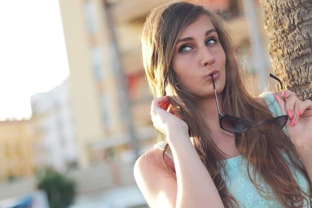Girl Posing Sunglasses - Free photo on Pixabay (264018)