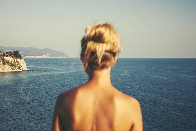 Woman Back Blonde - Free photo on Pixabay (265713)