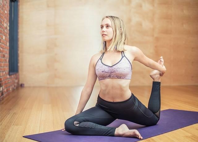Yoga Fitness Exercise - Free photo on Pixabay (265746)